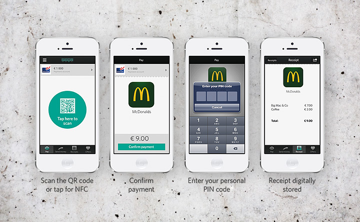Betala med SEQR i kortterminaler som stödjer kontaktlösa betalningar