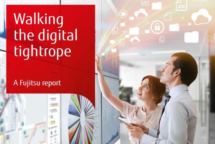 Många företag inom bank- och finanssektorn saknar digitalt självförtroende, visar Fujitsus undersökning
