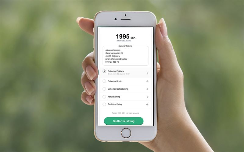Collector Bank lanserar Collector Checkout med Insights