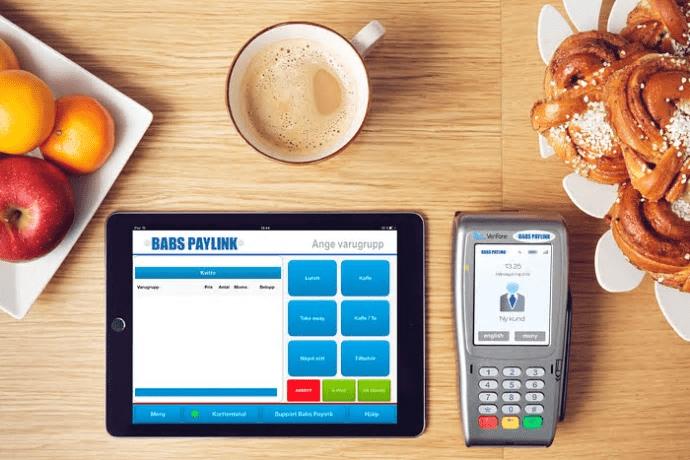 Babs Paylinks kassa först med Swedbanks och sparbankernas nya Swish-funktion