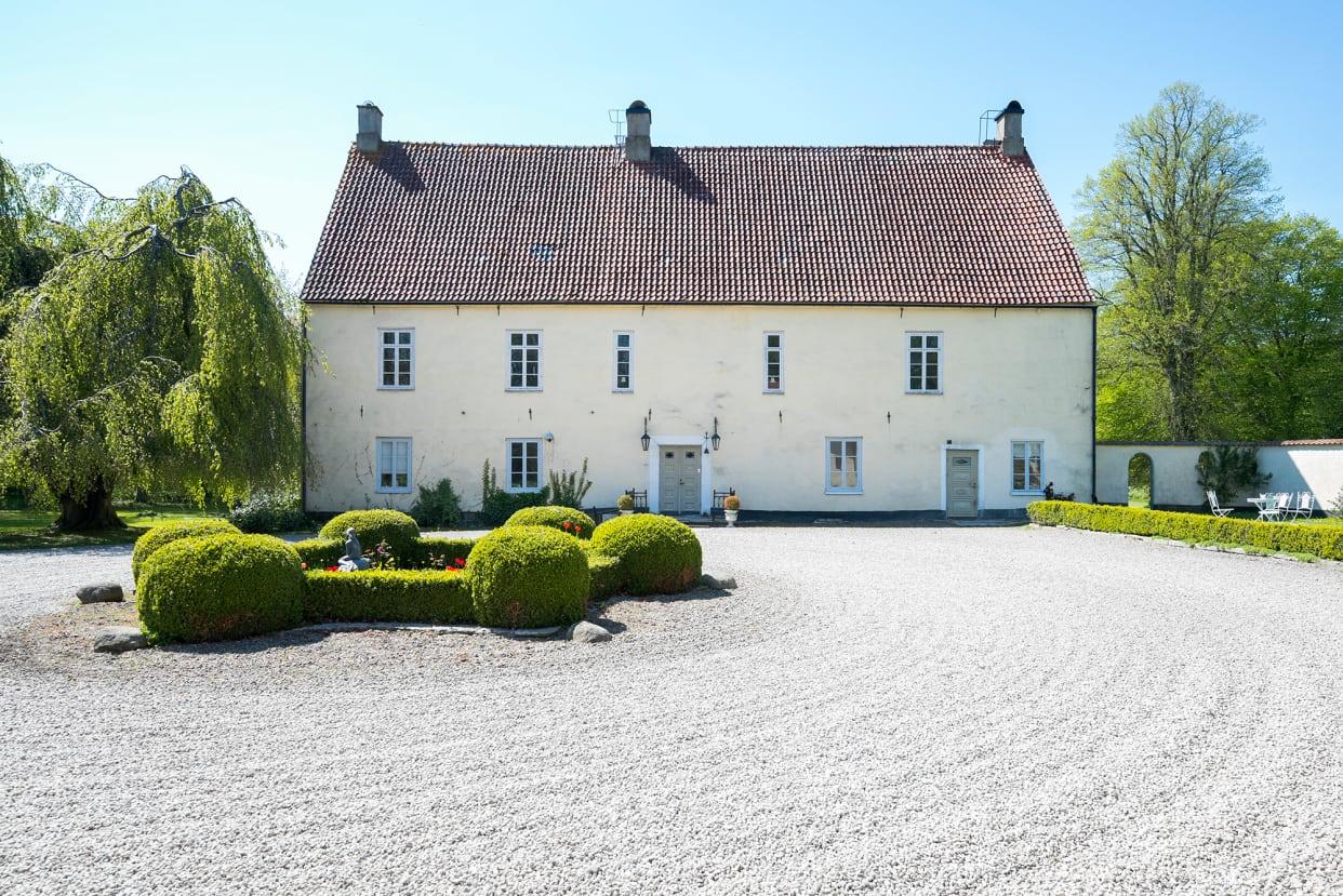 5 pampiga slott & herrgårdar till salu