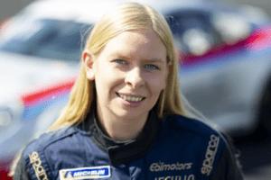 Tvåfaldiga IMSA-mästaren Christina Nielsen kommer till start i Porsche Carrera Cup Scandinavia. 2