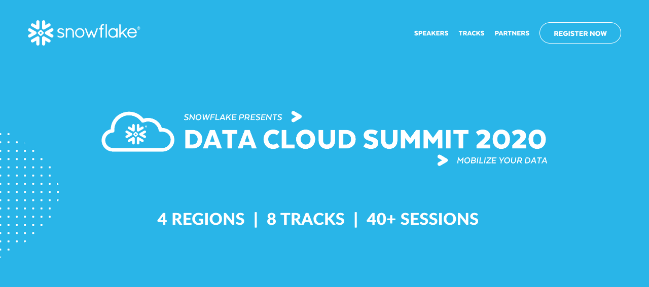 DATA CLOUD SUMMIT 2020 34