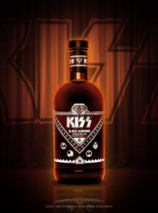 Nu lanseras KISS Black Diamond Premium Dark Rum, den första produkten i KISS Rum Kollection 3