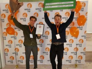 Svamp-app från Plocka Årets Game Changer på nationell startuptävling 2