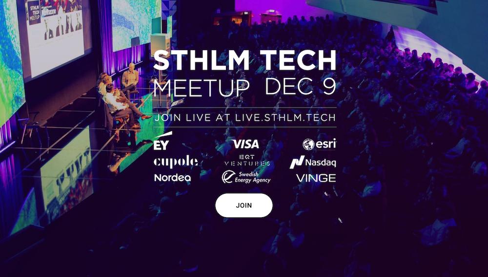 STHLM TECH Meetup 11