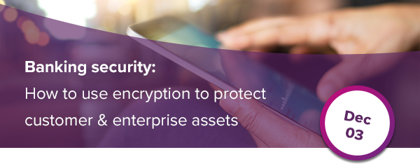 Banking security: How to use encryption to protect customer & enterprise assets 16