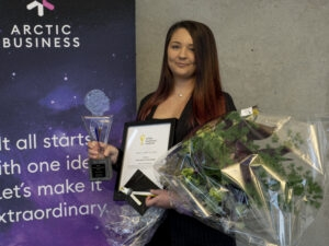 Arctic Space Technologies är Årets startup. Grattis!