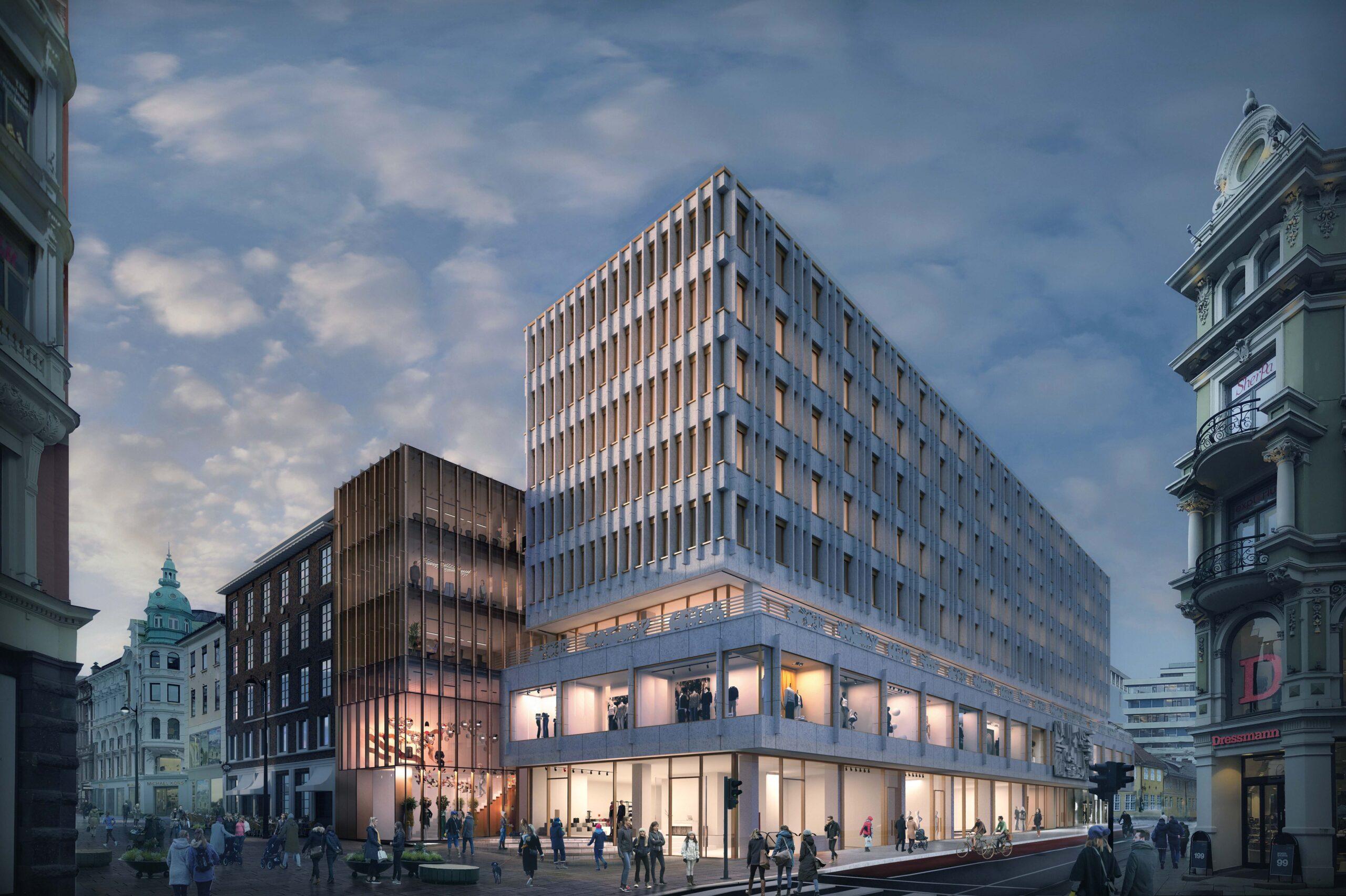 Rejlers ska säkra smarta lösningar på Stortorvet 7 i Oslo
