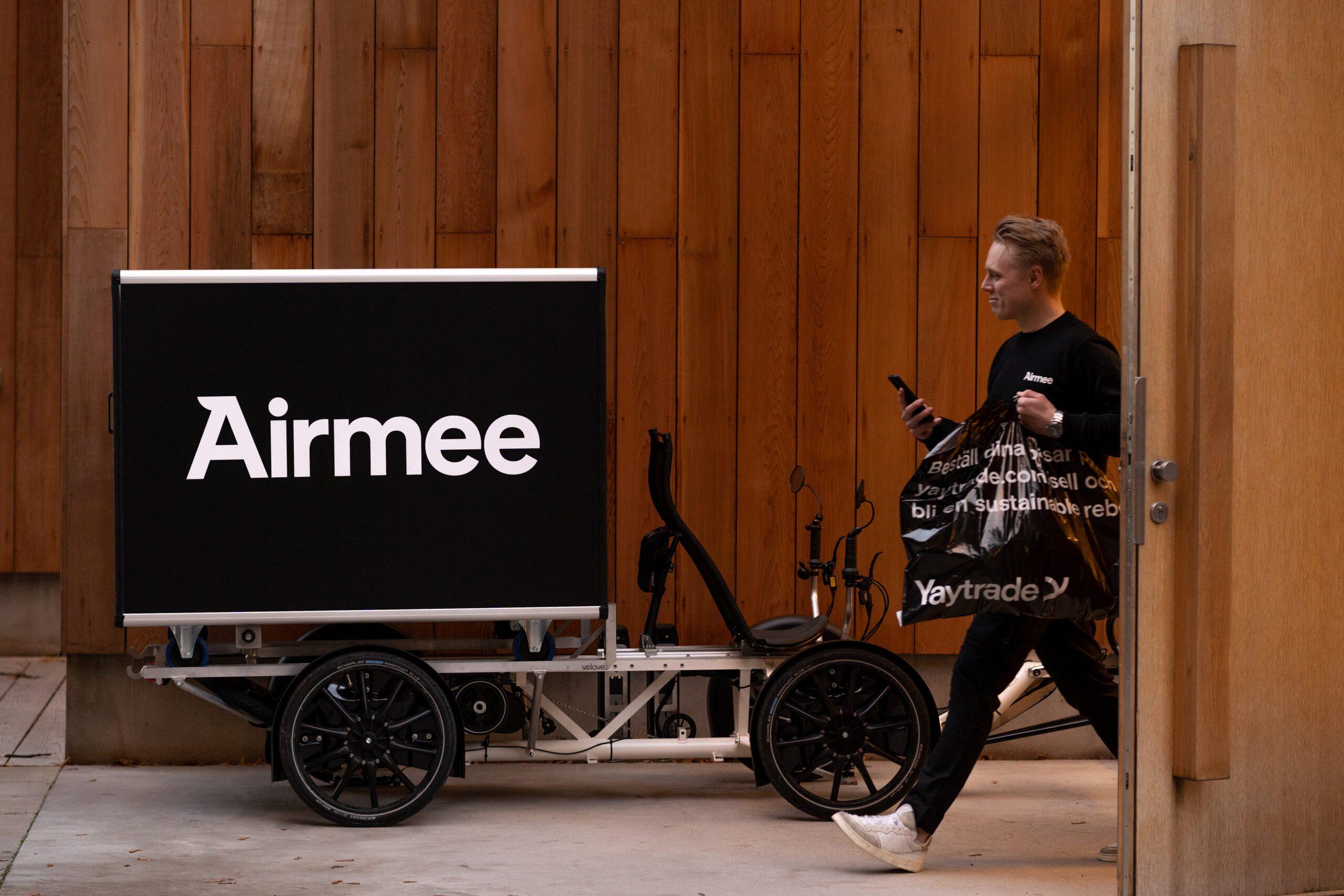 Airmee tar in över 160 MSEK i ny investeringsrunda efter rekordår