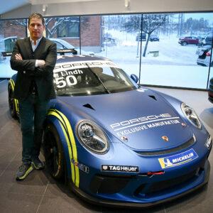 Pontus Frithiof och Porsche Carrera Cup Scandinavia förlänger sitt framgångsrika samarbete