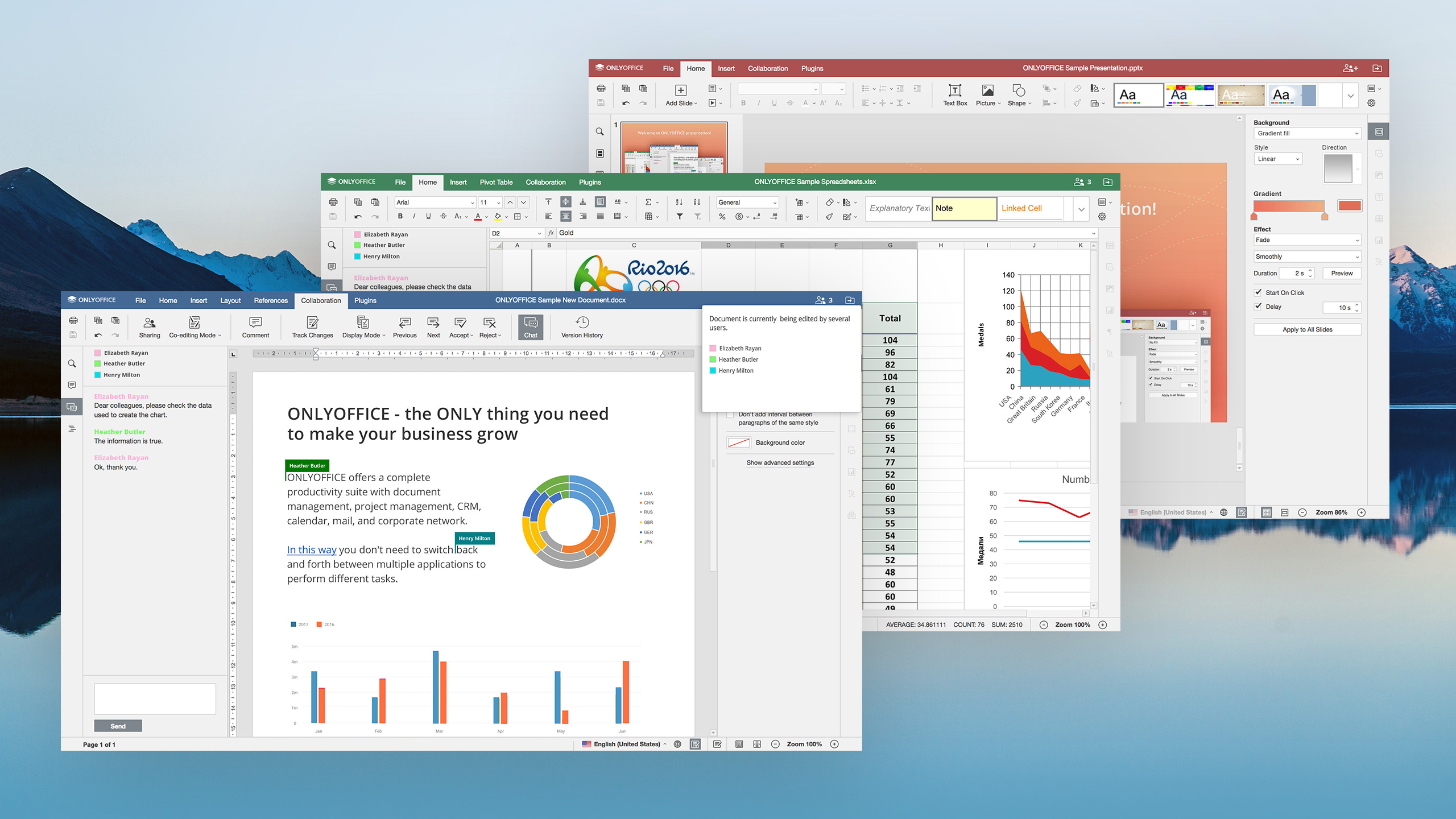 OnlyOffice satsar på gratis kontorspaket i molnet för mindre verksamheter