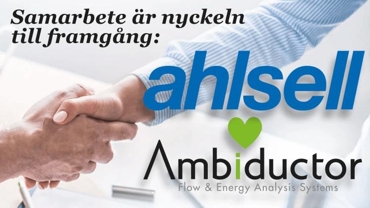 Ahlsell och Ambiductor ingår avtal gällande Internet-of-Things
