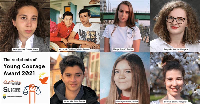 Här är vinnarna av Ungt Kurage och Young Courage Award 2021