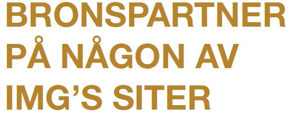 Partner – Guld – Silver – Brons
