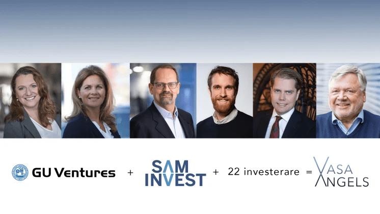 GU Ventures etablerar investeringsbolaget Vasa Angels