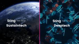 Sting Test Drive Sustaintech och Deepteck – ansökningen är öppen