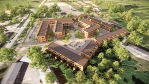 Lyckos utformar nya bostadsområden för större social hållbarhet